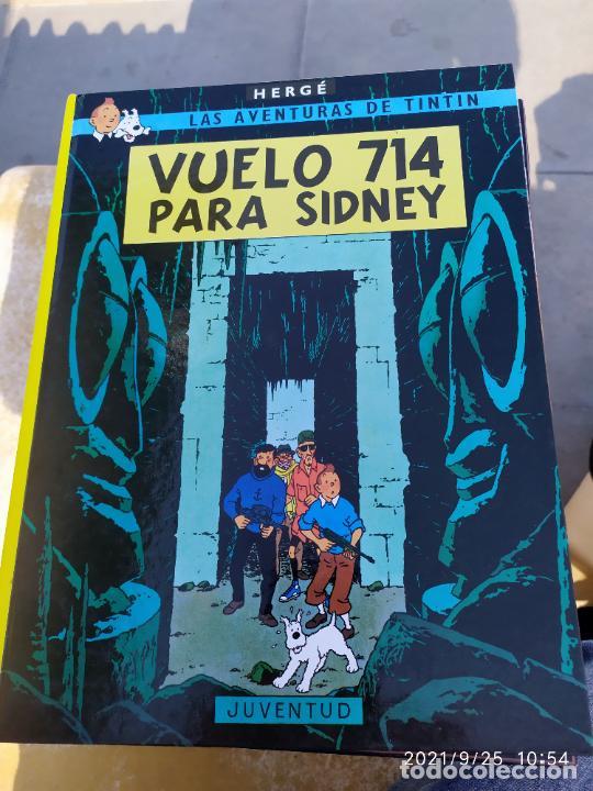 TINTIN VUELOS 714 PAR SIDNEY (Tebeos y Comics - Juventud - Tintín)