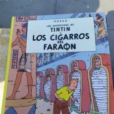 Cómics: TINTIN LOS CIGARROS DEL FARAON. Lote 289614638
