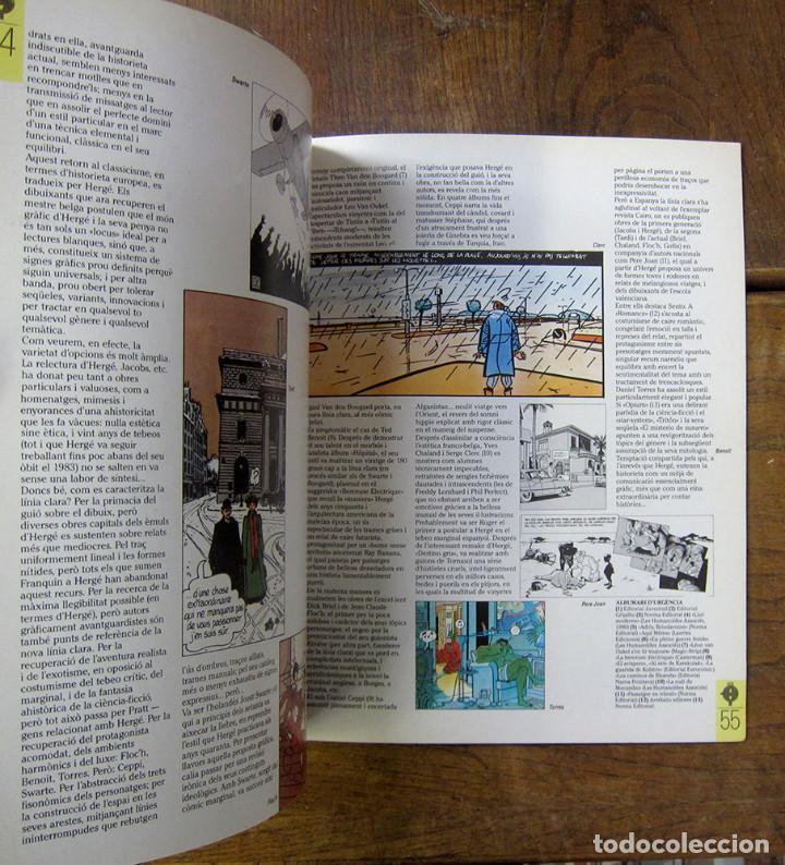 Cómics: TINTÍN A BARCELONA, HOMENATGE A HERGÉ - 1984 - EN CATALÁN - CATÁLOGO EXPOSICIÓN - Foto 3 - 289726388
