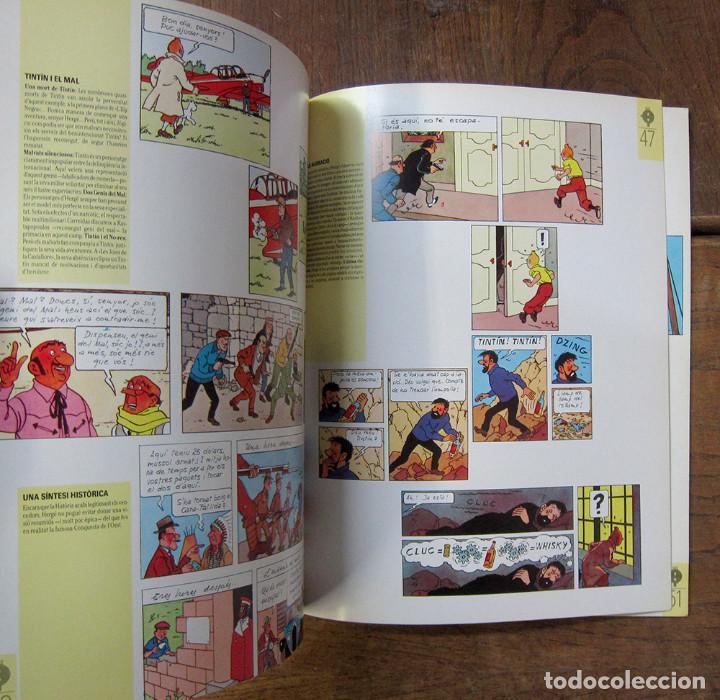 Cómics: TINTÍN A BARCELONA, HOMENATGE A HERGÉ - 1984 - EN CATALÁN - CATÁLOGO EXPOSICIÓN - Foto 4 - 289726388