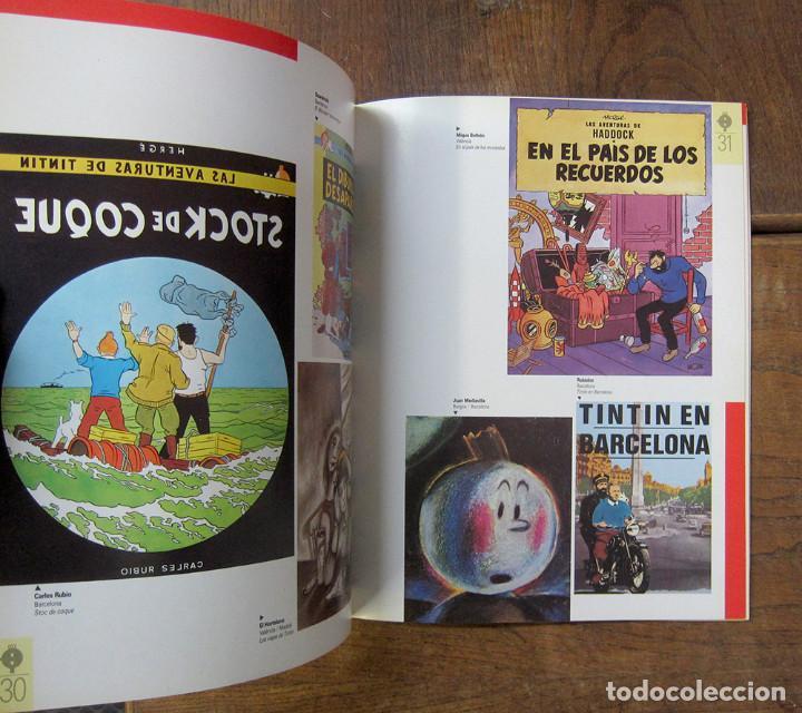 Cómics: TINTÍN A BARCELONA, HOMENATGE A HERGÉ - 1984 - EN CATALÁN - CATÁLOGO EXPOSICIÓN - Foto 5 - 289726388