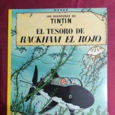 Cómics: LAS AVENTURAS DE TINTIN. EL TESORO DE RACKHAM EL ROJO. JUVENTUD. 1996. Lote 289907503