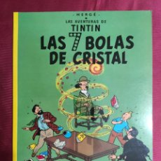Cómics: LAS AVENTURAS DE TINTIN. LAS 7 BOLAS DE CRISTAL. JUVENTUD. 1996. Lote 289907733