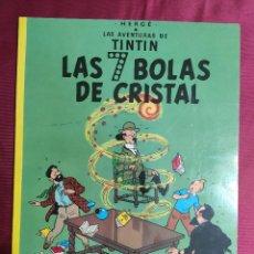 Cómics: LAS AVENTURAS DE TINTIN. LAS 7 BOLAS DE CRISTAL. JUVENTUD. 1997. Lote 289908168
