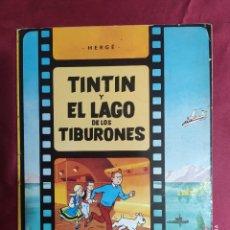 Cómics: TINTIN Y EL LAGO DE LOS TIBURONES. JUVENTUD. 1981. 4ª EDICIÓN. Lote 289911188