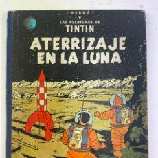 Cómics: L-920. LAS AVENTURAS DE TINTIN, ATERRIZAJE EN LA LUNA. HERGÉ. ED.JUVENTUD.PRIMERA EDICION,1959. Lote 290533118