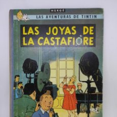 Cómics: TINTIN. LAS JOYAS DE LA CASTAFIORE. PRIMERA EDICIÓN 1964. LOMO DE TELA.. Lote 291332223