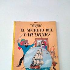 Cómics: TINTÍN EL SECRETO DEL UNICORNIO EDITORIAL JUVENTUD 9 EDICIÓN AÑO 1983 TAPA BLANDA. Lote 292154898