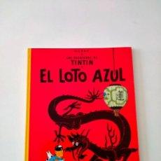 Cómics: TINTÍN EL LOTO AZUL EDITORIAL JUVENTUD 8 EDICIÓN AÑO 1982 TAPA BLANDA. Lote 292160363