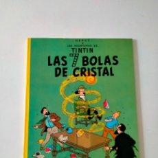 Cómics: TINTÍN LAS 7 BOLAS DE CRISTAL EDITORIAL JUVENTUD 7 EDICIÓN AÑO 1982 TAPA BLANDA. Lote 292163813