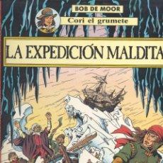 Cómics: CORI, EL GRUMETE 3. EDITORIAL JUVENTUD, 1989 (1ª EDICIÓN). LA EXPEDIICÓN MALDITA. BOB DE MOOR. Lote 292330868