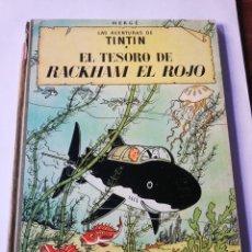 Cómics: TINTIN: EL TESORO DE RACKHAM EL ROJO. Lote 293424243