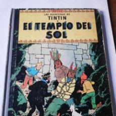 Cómics: TINTIN: EL TEMPLO DEL SOL. Lote 293424388