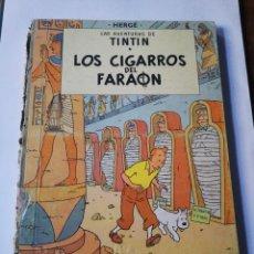 Cómics: TINTIN: LOS CIGARROS DEL FARAÓN.. Lote 293424468