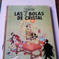 Cómics: TINTIN: LAS 7 BOLAS DE CRISTAL.. Lote 293424643