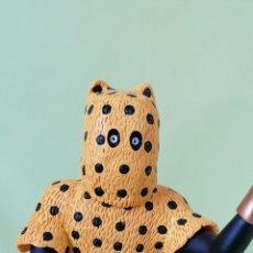 Cómics: FIGURA DE RESINA -HOMBRE LEOPARDO- MUSEO IMAGINARIO TINTÍN. Lote 293698808