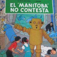 Cómics: HERGE--JO, ZETTE Y JOCKO--EL MANIBOTA NO CONTESTA. Lote 293758123