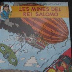 Cómics: JANUARY JONES --LES MINES DEL REI SALOMO--ERIC HEUVEL. Lote 293758708