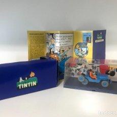 Cómics: COCHE TINTIN JEEP WILLYS OBJETIVO LA LUNA N1 ATLAS. Lote 293950113