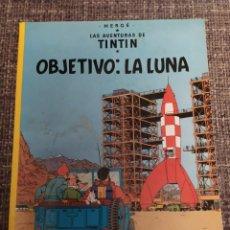 Cómics: TINTÍN OBJETIVO LA LUNA. Lote 294483938