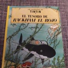 Cómics: TINTÍN EL TESORO DE RACKHAM EL ROJO. Lote 294484258