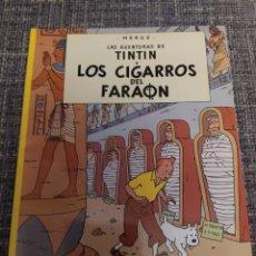 Cómics: TINTÍN LOS CIGARROS DEL FARAÓN. Lote 294484748