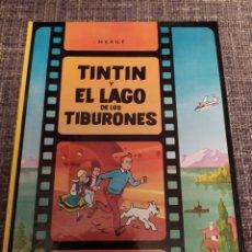 Cómics: TINTÍN Y EL LAGO DE LOS TIBURONES. Lote 294488983