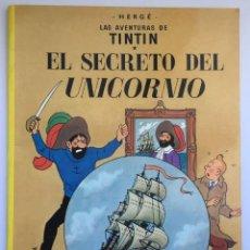 Cómics: TINTIN - EL SECRETO DEL UNICORNIO - TAPA BLANDA - EDICIÓN 2003. Lote 294500523