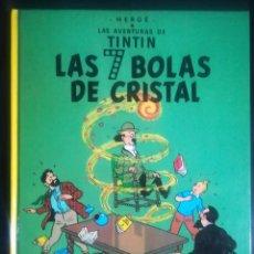 Cómics: LAS AVENTURAS DE TINTIN LAS 7 BOLAS DE CRISTAL. Lote 294505618