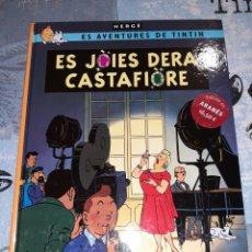 Cómics: TINTÍN EN ARANÉS LAS JOYAS DE LA CASTAFIORE / ES JÒIES DERA CASTAFIÒRE ZEPHYRUM EDICIONES. Lote 295340563