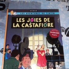Cómics: TINTÍN EN VALENCIANO LAS JOYAS DE LA CASTAFIORE / LES JOIES DE LA CASTAFIORE ZEPHYRUM EDICIONES. Lote 295341088