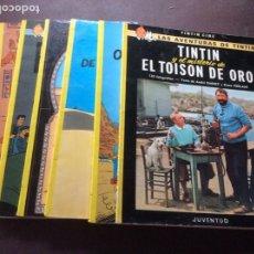 Cómics: TINTIN 7 TITULOS TAPA BLANDA. Lote 295426583