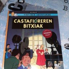 Cómics: TINTÍN EN EUSKERA LAS JOYAS DE LA CASTAFIORE / CASTAFIOREREN BITXIAK ZEPHYRUM EDICIONES. Lote 295523668