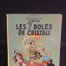 Cómics: TINTÍN LES 7 BOLES DE CRISTALL HERGÉ EN CATALAN. Lote 295703413