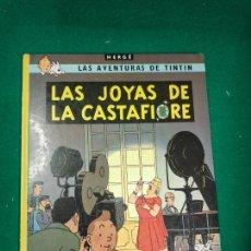 Cómics: LAS AVENTURAS DE TINTIN - HERGE - LAS JOYAS DE LA CASTAFIORE - EDITORIAL JUVENTUD 1983.. Lote 295783103