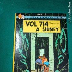 Cómics: LES AVENTURES DE TINTIN - HERGE - VOL 714 A SIDNEY - EDITORIAL JUVENTUD 1982.. Lote 295783638