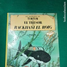 Cómics: LES AVENTURES DE TINTIN - HERGE - EL TRESOR DE RACKHAM EL ROIG - EDITORIAL JUVENTUD 1982.. Lote 295783913
