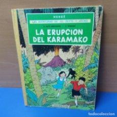 Cómics: LAS AVENTURAS DE JO, ZETTE Y JOCKO - LA ERUPCION DEL KARAMAKO - EL RAYO MISTERIOSO - JUVENTUD. Lote 296004338