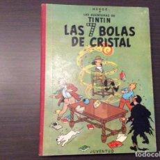 Cómics: TINTÍN LAS 7 BOLAS DE CRISTAL PRIMERA EDICIÓN. Lote 296690443