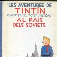 Cómics: LES AVENTURES DE TINTIN AL PAIS DEL SOVIETS. ED. JOVENTUT 1986. BON ESTAT. Lote 296713828