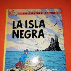Cómics: TINTIN. LAS AVENTURAS DE TINTIN. LA ISLA NEGRA. JUVENTUD. 9ª EDICION 1985. Lote 296873268
