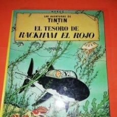 Cómics: TINTIN. LAS AVENTURAS DE TINTIN. EL TESORO DE RACKHAM EL ROJO. JUVENTUD. 10ª EDICION 1984. Lote 296873908