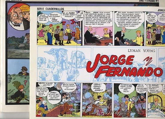 JORGE Y FERNANDO VOLUMENES 1 Y 2 - J. ESTEVE - 1985-9 (Tebeos y Comics - Magerit - Jorge y Fernando)