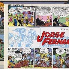 Cómics: JORGE Y FERNANDO VOLUMENES 1 Y 2 - J. ESTEVE - 1985-9. Lote 22841789