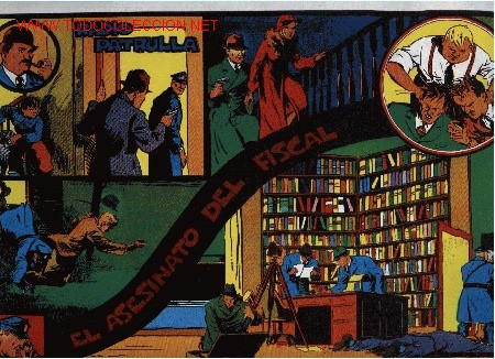 RADIO PATRULLA - EL ASESINATO DEL FISCAL - 12ª AVENTURA - ED. EUROCLUB MAGERIT S.L. 1.995 (Tebeos y Comics - Magerit - Otros)