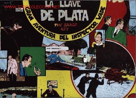 INSPECTOR WADE - LA LLAVE DE PLATA - Nº 3 - ED. EUROCLUB MAGERIT S.L. 1.995 (Tebeos y Comics - Magerit - Otros)