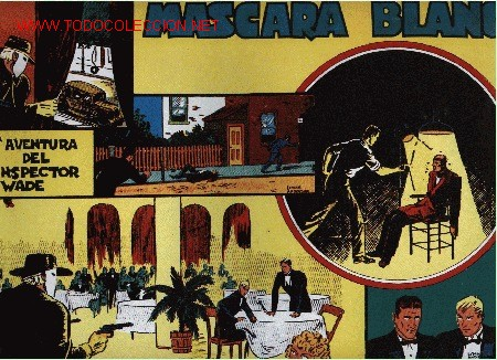 INSPECTOR WADE - MÁSCARA BLANCA - 2ª AVENTURA - ED. EUROCLUB MAGERIT S.L. 1.995 (Tebeos y Comics - Magerit - Otros)