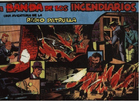 RADIO PATRULLA - LA BANDA DE LOS INCENDIARIOS - 13ª AVENTURA - ED. EUROCLUB MAGERIT S.L. 1.995 (Tebeos y Comics - Magerit - Otros)