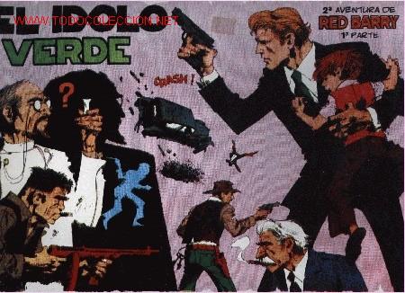 RED BARRY 2º AVENTURA - 1º PARTE - ED. EUROCLUB MAGERIT S.L. 1.995 (Tebeos y Comics - Magerit - Otros)