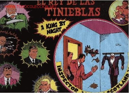 INSPECTOR WADE - EL REY DE LAS TINIEBLAS - Nº 6 - ED. EUROCLUB MAGERIT S.L. 1.995 (Tebeos y Comics - Magerit - Otros)